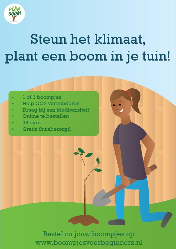 Geef een boompje en maak Drenthe groener